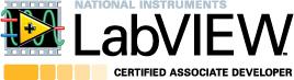 Certified LabVIEW Associate Developer logo